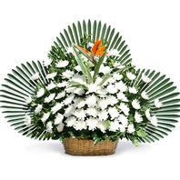 영정바구니(고급형) /장례식장꽃배달